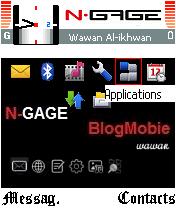 Desktop Homescreen Untuk N-Gage